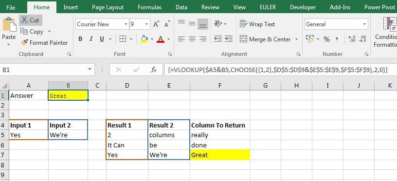 Multiple-Column-VLOOKUP